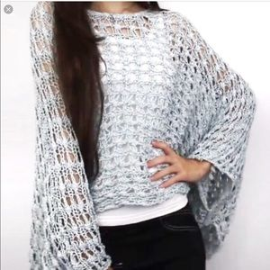 Urban Outfitters Staring at Stars poncho seeater